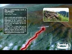 Kilimanjaro Lemosho Route in 3D