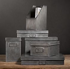 ikea office storage boxes. Industrial Metal Office Storage Collection Restoration Hardware.Bet A Bit Of Spraypaint Ikea Boxes