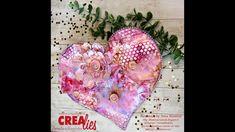 Medium Art, Mixed Media Art, Stencils, Hearts, Romantic, Mixed Media, Templates, Romance Movies, Stenciling