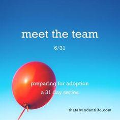 meet the team #write31days — that abundant life