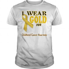Childhood Cancer Awareness LIMITED TIME ONLY. ORDER NOW if you like, Item Not Sold Anywhere Else. Amazing for you or gift for your family members and your friends. Thank you! #ovarian #cancer #awareness #shirts