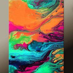 Arte abstracto arte moderno contemporáneo de impresiones 11 x