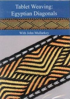 Tablet or Card weaving books and tools. Inkle Weaving Patterns, Loom Patterns, Knitting Patterns, Card Weaving, Weaving Yarn, Finger Weaving, Inkle Loom, Fair Isle Pattern, Arm Knitting