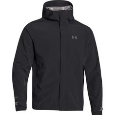 When it rains, it pours. If your smart the Under Armour Storm ColdGear Sonar Waterproof Jacket will have your back (or be on it, rather): 100% waterproof!