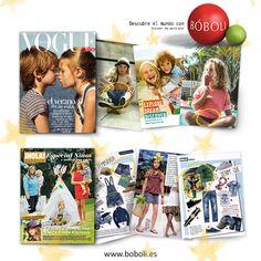 ¡Bóboli en las Editoriales de Moda y Tendencias más importantes! | Bóboli on the most important Fashion & Trends Magazines. #Boboli #Hola #Vogue