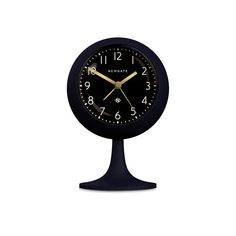 A modern dome-shaped podium alarm clock with a matt 'Petrol Blue' silicone finish, black dial and digital beep alarm. A virtually silent 'no tick' movement makes this alarm clock is quieter than most. Denim Drift, Blue Clocks, Burke Decor, Face Design, Looks Vintage, Texture, Color Of The Year, Home Accessories, Modern