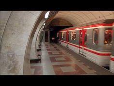 Praha Anděl: Metro Station Anděl Prag / Prague Metro Station An. Metro Station, Czech Republic, Prague