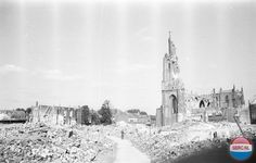 Kippenmarkt Arnhem (jaartal: 1945) - Foto's SERC
