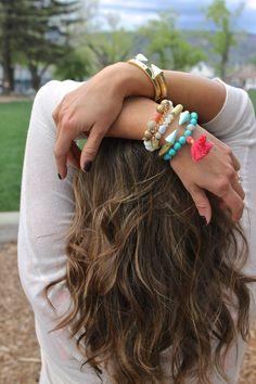Tassels & Turquoise Bracelets