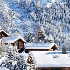 """Verbier, Valais (January 2016 ☃). Photography by : ✨@ElenaKrizhevskaya✨  #Switzerland_Vacations #"""