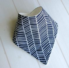Made out of Cotton Joel Dewberry Herringbone in Lake fabric and especially designed with dribbly, teething babes in mind. Dribble Bibs, Cotton Fleece, Teething, Herringbone, Bandana, Bamboo, Challenge, Organic, Fabric