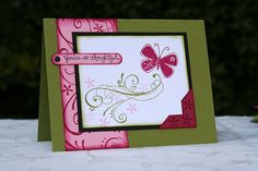 pretty butterfly by scrapbookgirl44 - Cards and Paper Crafts at Splitcoaststampers