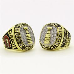 Custom 1957 Montreal Canadiens Stanley Cup Championship Ring