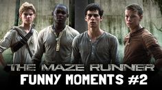 The Maze Runner Cast Funny Moments: PART 2