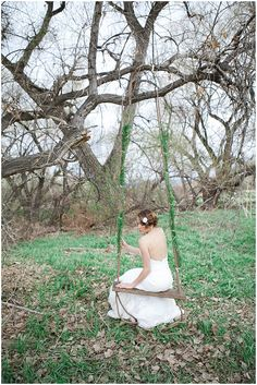 Romantic Lavender and Lace Inspired Shoot by Connie Dai Photography #wedding #decor #swing