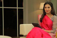 Mahira Khan Pakistan Fashion Saree