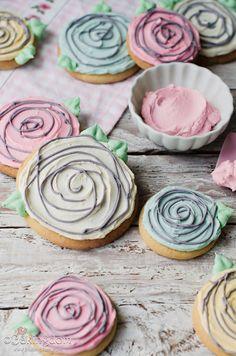 Easy Ranunculus Cookies