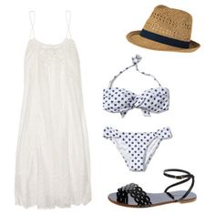 Stand out in style at your next pool party with these great poolside outfits. #FashionNews