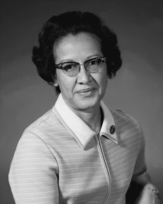Katherine Johnson, NASA physicist, space scientist, and mathematician.