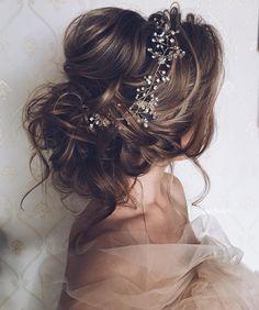 Wedding Hairstyles For Long Hair, Wedding Hair And Makeup, Messy Hairstyles, Pretty Hairstyles, Hair Makeup, Bridal Hairstyles, Hair Wedding, Hairstyle Ideas, Hair Ideas