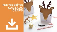 Printable CadeauxFolies All Things Christmas, Halloween, Blog, Place Cards, Xmas, Paper Crafts, Place Card Holders, Packaging, Printables