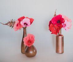 Vish Vou casar: Faça você mesmo: Flores de papel crepom