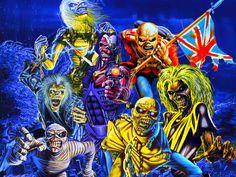 Iron Maiden Eddie | Iron Maiden (Eddie) Wallpaper