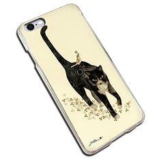 オンリーワンスマホケース アーティスト シリーズ No.3 浦正 『 悠猫花鳥図 - ゆうびょうかちょうず - 』【 ハード タイプ 】 (iPhone5/5s)
