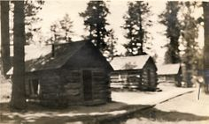 Historic Cabin Photos at Big Bear Lake, CA  #BigBearCabins #BigBearLake