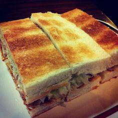 Shrimp cutlet sandwich