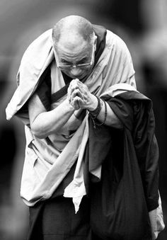 """""""A great rock is not disturbed by the wind; the mind of a wise man is not disturbed by either honor or abuse.""""  ~His Holiness the Dalai Lama"""