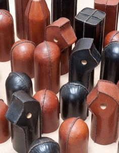 From the book Carl Aubock-the Workshop.  Not sure what these are.  Handles?