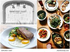 Explore Charleston's eclectic eateries that feature plates straight from the farm.