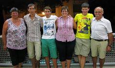 Tra i nostri ospiti una bellissima famiglia dalla Germania che viene a trovarci ogni anno!!!