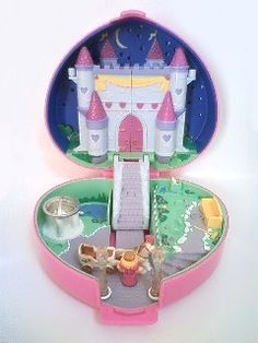 POLLY POCKET! this one use to be my favorite! talk about walk down memory lane..
