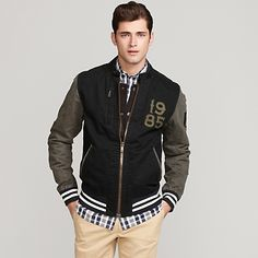 I dont care about the jacket; I care about his face. Shopping for boys in the mens apparel