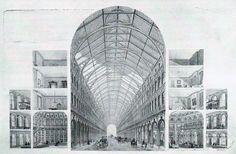 Resultado de imagen para palacio de cristal paxton interior