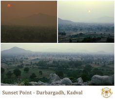 Experience the most beautiful Sun Set near #Darbargadh Kadval.
