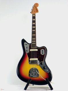 1967 Fender JaGUAR sUNBURST Fender Jaguar, Cool Guitar, Guitars, Music Instruments, Instruments, Musical Instruments, Guitar