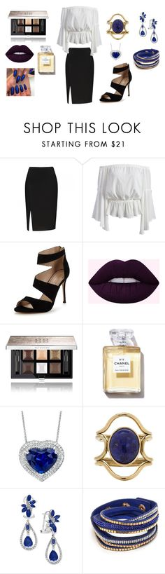 Fearless by karissajung on Polyvore featuring Carvela, Effy Jewelry, Mociun and Givenchy