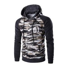 15482d0e1f Men Camouflage Hoodies 2018 New Brand Male Military Printing Pullovers  Sweatshirts Mandresslliy Lezser Férfi, Zseb