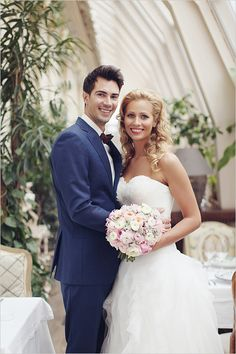 Glamorous bride and groom! Captured By: Sonya Khegay ---> http://www.weddingchicks.com/2014/05/14/glamorous-russian-wedding-you-have-to-see-to-believe/
