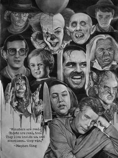 My pencil drawing. tattoos horror movies My pencil drawing. Horror Movie Posters, Horror Movie Characters, Horror Icons, Horror Movie Tattoos, Horror Villains, Film Posters, Films Stephen King, Stephen King Tattoos, Stephen King Quotes