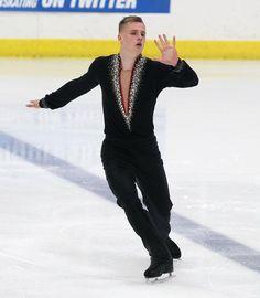 Finland's Bela Papp, Men's free at U.S. International Classic 2014, Men's Figure Skating / Ice Skating dress inspiration for Sk8 Gr8 Designs.
