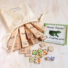 Leap Frog Board Game by GamesToGo on Etsy