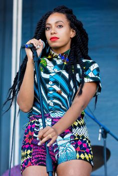 Coachella hair inspiration: Solange Knowles's twisted style. #coachella