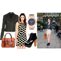 Alexa Chung look for less, created by testaholic.polyvore.com