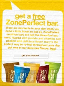 Get a Free ZonePerfect Bar