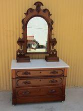 American Antique Dresser Victorian Antique Bedroom Furniture