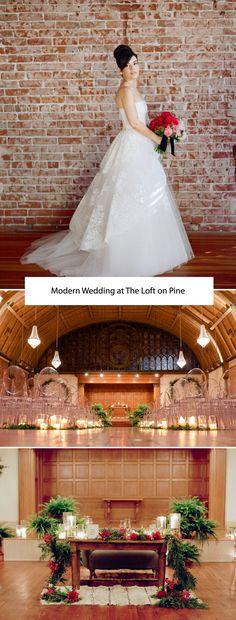 Modern Wedding at The Loft on Pine